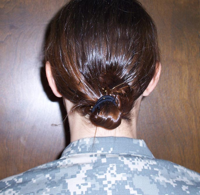 Army Hairstyles - Females