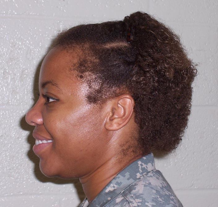 Army Hairstyles Females